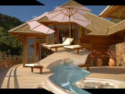 achetez votre villa de luxe tahiti youtube. Black Bedroom Furniture Sets. Home Design Ideas