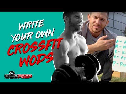 How To Make Your Own CrossFit® Style Workouts 💪🏽 WODprep