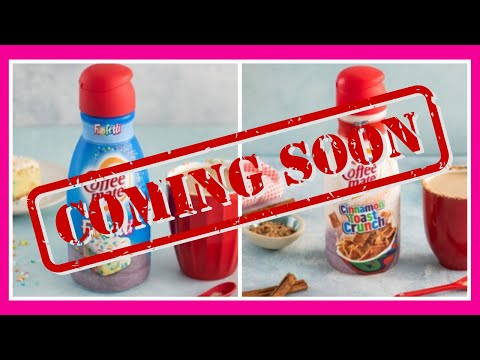 Kristina Kage - New Coffee-Mate Flavors: Funfetti and Cinnamon Toast Crunch Coming!