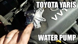 "Water Pump 05-11 Toyota Yaris Replacement ""how to"""