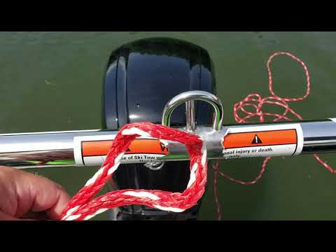 How To Tie A Ski/Tubing Rope