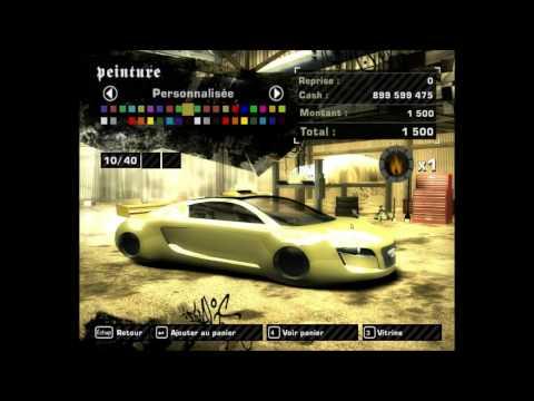 NFS Most Wanted - Nouvelle voiture pour le ModLoader : La Audi RSQ (tirée du film I-Robot)