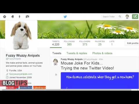 How To Upload Video To Twitter from Desktop - YouTube
