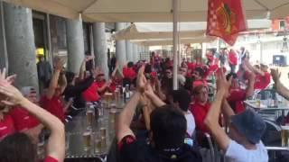 Aficion del Real Mallorca en Valladolid