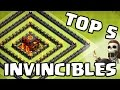 Clash of Clans | TOP 5 Bases INVINCIBLES | Les meilleurs villages GDC du moment | Français