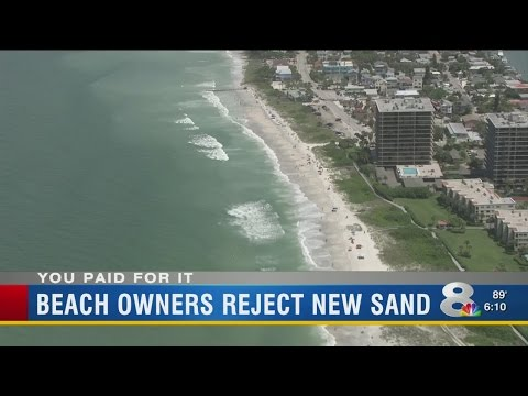 Pinellas property owners draw line in the sand against beach renourishment project