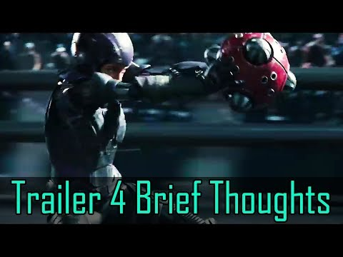 Alita Battle Angel Trailer 4 -  Very Quick Thoughts