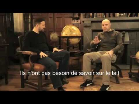 Learn English with Ricky Gervais (French Subtitles)