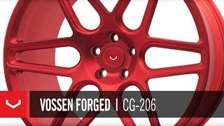 Vossen Forged | CG-206 | Polished Scarlet Red