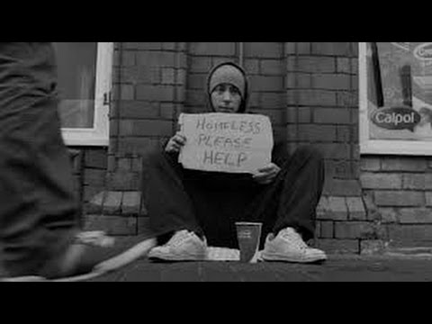 A Homeless Story - Video by William McEvoy, Song Invisible by Andy Conway