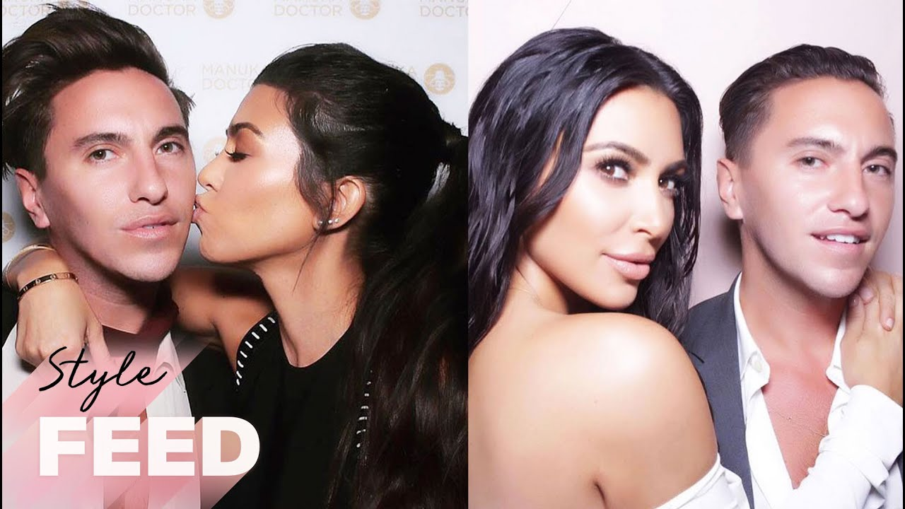 How Hairstylist Scotty Cunha Keeps Up With the Kardashians! | ET Style Feed