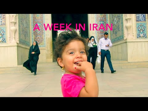 A week in Iran (travel documentary 2016)