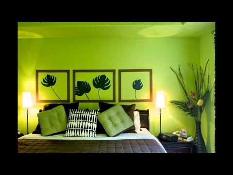 BEDROOM DESIGNS GREEN