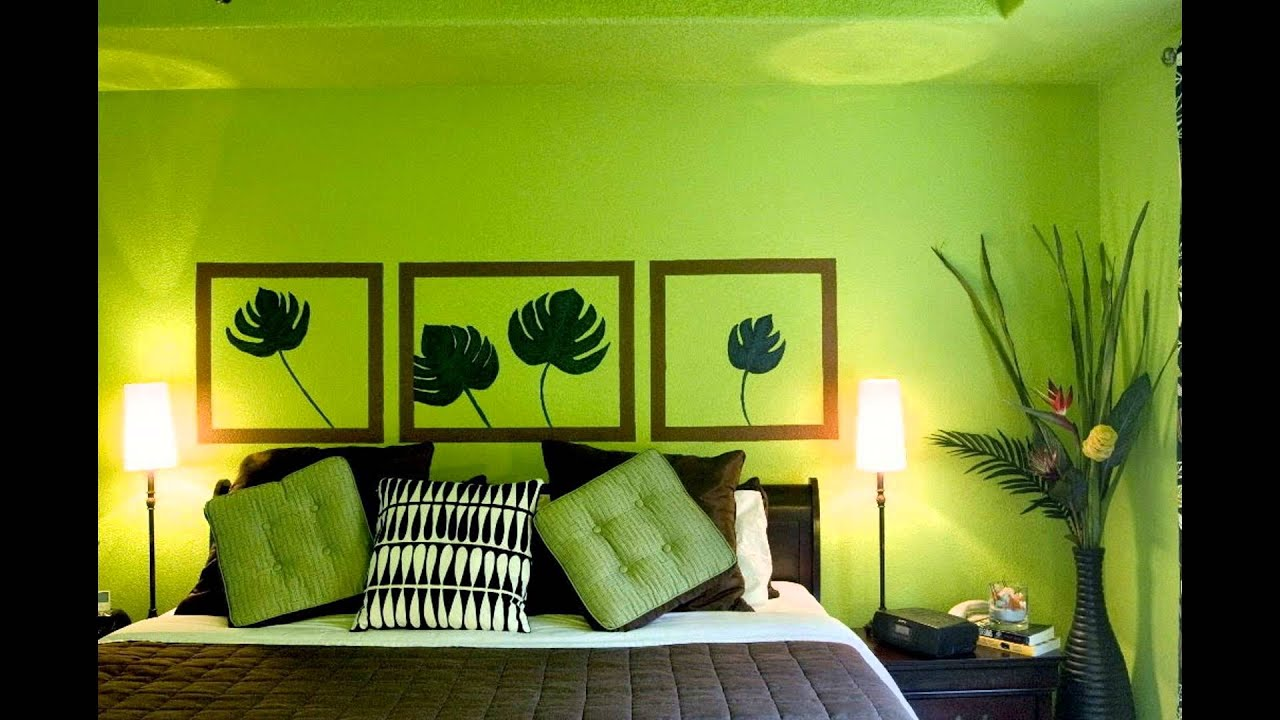 BEDROOM DESIGNS GREEN - YouTube