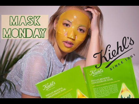 Mask Monday: Kiehl's Instant Renewal Concentrate Mask Demo + Review | Love P Beauty