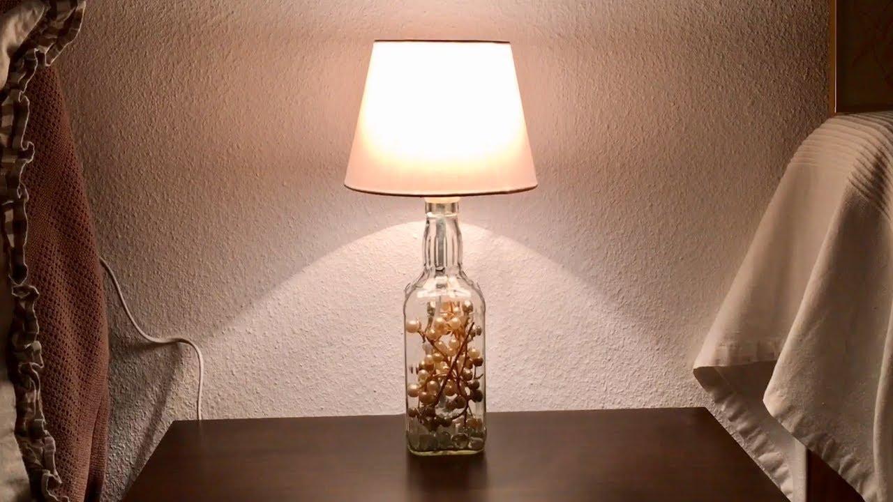 lampe aus flaschen bauen jack daniels flaschenlampe diy youtube. Black Bedroom Furniture Sets. Home Design Ideas