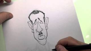 How to draw Ted Cruz