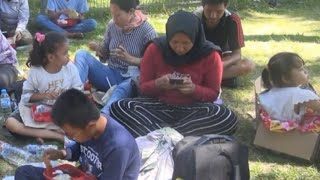 Korban Gempa & Tsunami di Palu Mengungsi ke Manado
