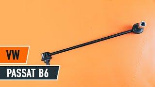Instalação Barra escora barra estabilizadora traseiro e dianteiro VW PASSAT: vídeo manual