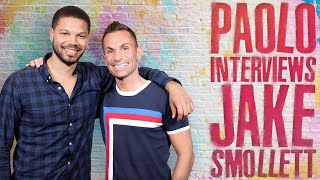 "Jake Smollett talks new Food Network show ""Smollett Eats""!"