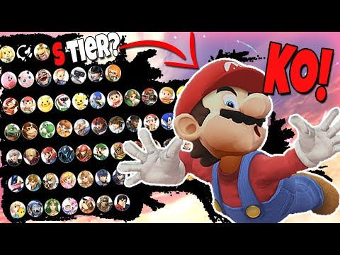 Smash Bros Ultimate Tier List Based on their KO SCREEN thumbnail