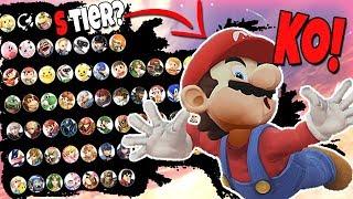 Smash Bros Ultimate Tier List Based on their KO SCREEN