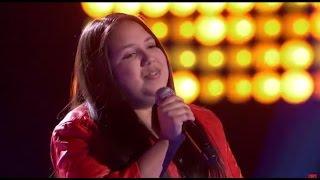 La Voz Kids | Keily Valenzuela canta 'Mi Tesoro' en La Voz Kids
