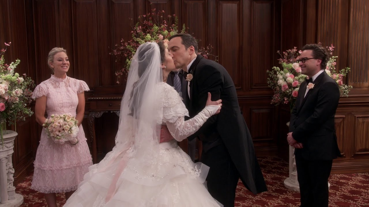Sheldon And Amy Wedding.The Big Bang Theory Sheldon Amy Wedding Part 2