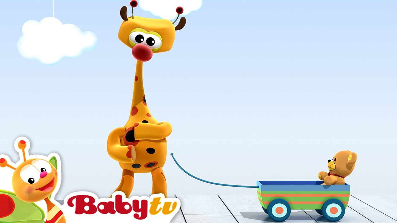 Rap Jerapah Happy To Be Babytv Bahasa Indonesia Stiker Acil Versi Wanita