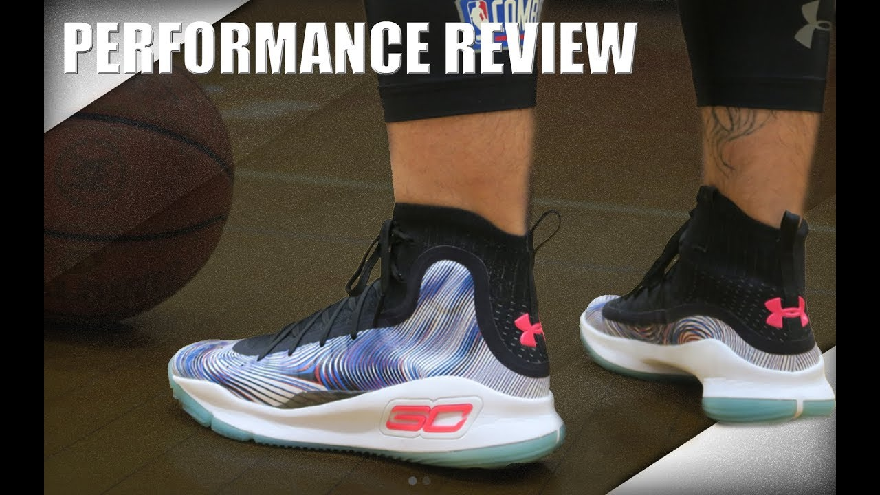 df4e52acf3e7 Under Armour Curry 4 Performance Review - YouTube