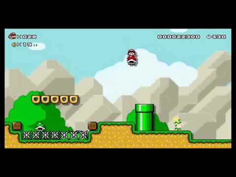Super Mario Maker for Nintendo 3DS. M5-1. 1.ª medalla