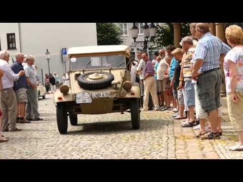 "August Horch Klassik am 19.07.2015  Kontrollstelle ""Alte Wache"" Greiz"