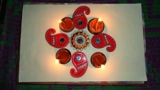 kundan rangoli diwali special designs