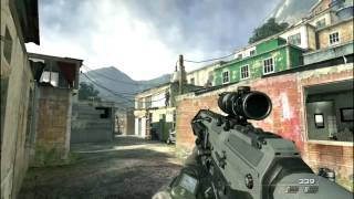 Call Of Duty Modern Warfare 2 Mission 5 : Takedown gameplay