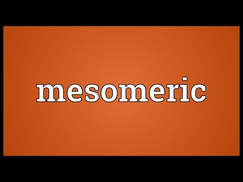 Mesomeric Meaning