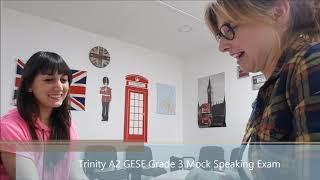 A2 GESE grade  3 Mock speaking exam London