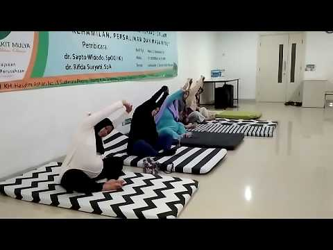 PREGNANCY EXERCISE TRIMESTER 3 SESION 1