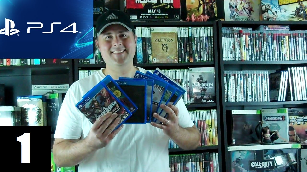 how to start ps4 on the game