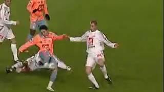 Saison 2007-2008 Coupe de France 8ème de finale Carquefou-Olympique de Marseille 1-0