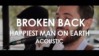 Broken Back - Happiest Man On Earth - Acoustic [ Live in Paris ]