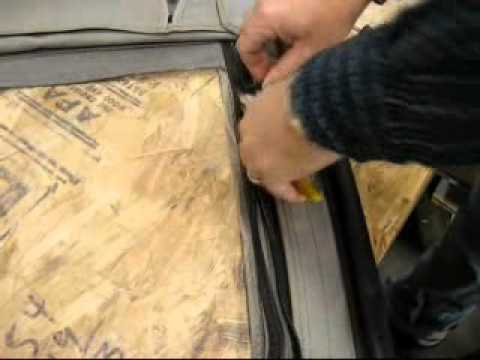 How To R&age Products Repair Door Skin Zipper & How To: Rampage Products Repair Door Skin Zipper - YouTube