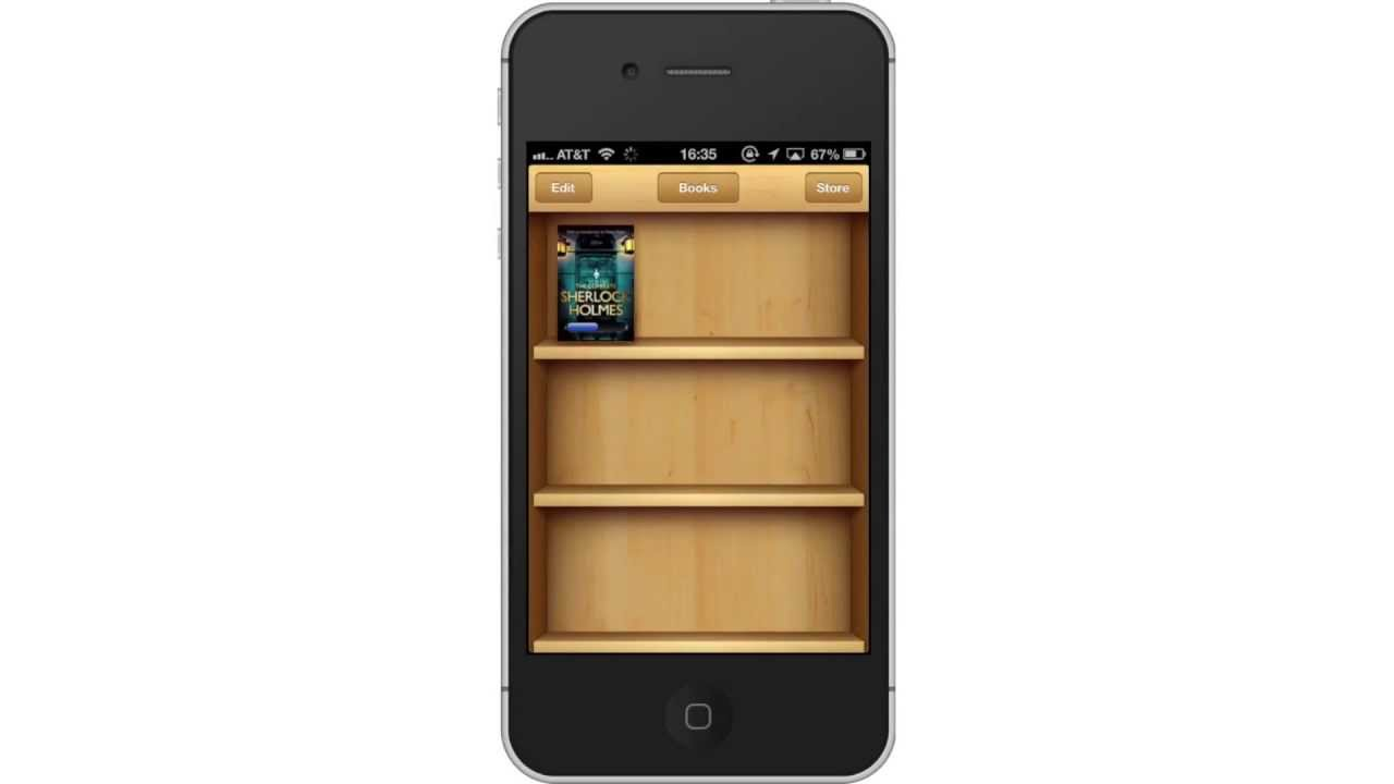 how to delete ibooks app from iphone