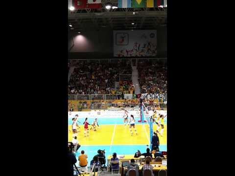 PanAm games - Volleyball Brazil vs. Puerto Rico