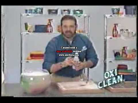 billy mays first oxiclean commercial 2001 youtube