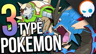 What if Pokemon had THREE TYPES!? | Gnoggin