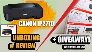 Canon Pixma IP2770 | UNBOXING …