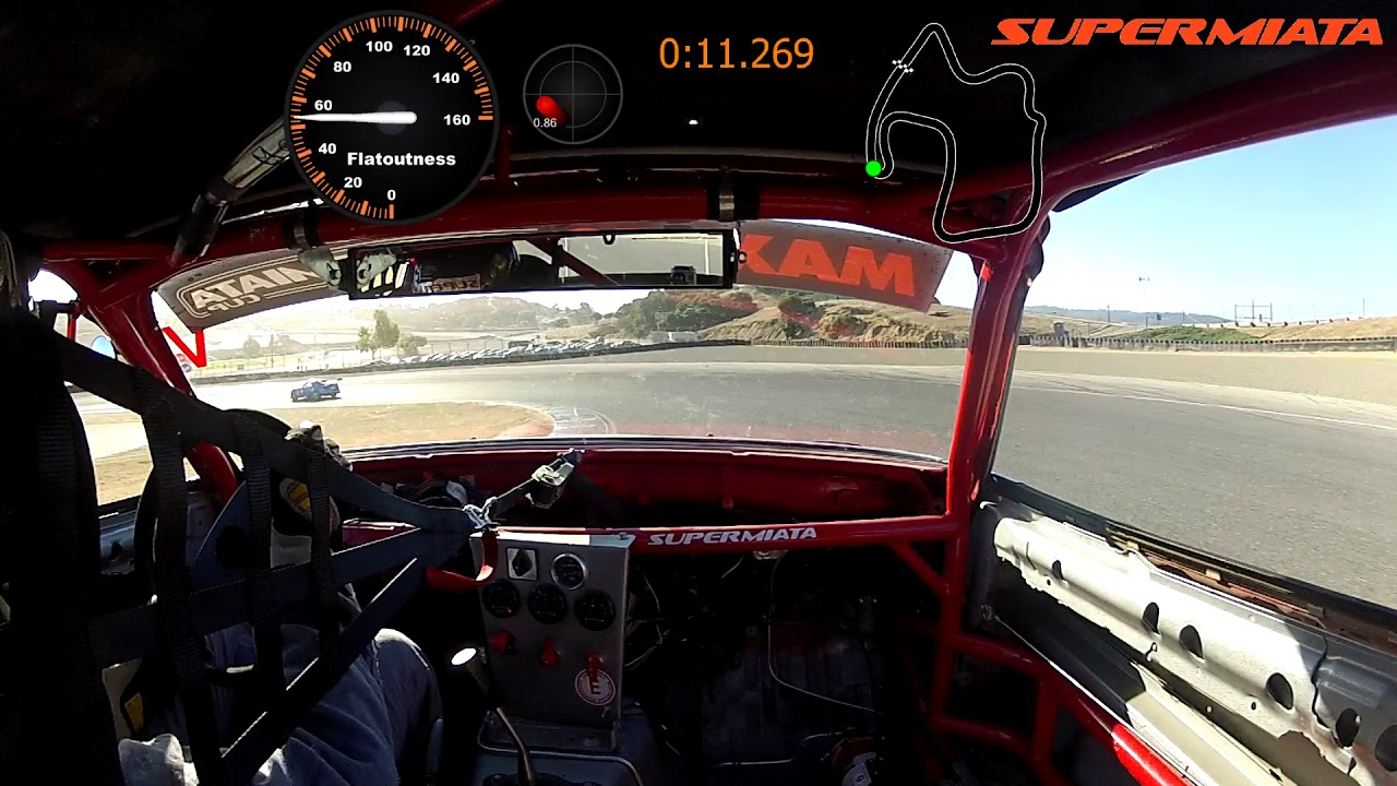 Miatas At Mazda Raceway Laguna Seca  Supermiata
