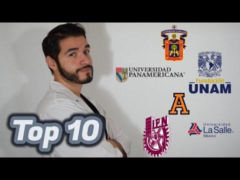 LAS 10 MEJORES UNIVERSIDADES DE MEDICINA EN MÉXICO 2018 | Doctor Vic