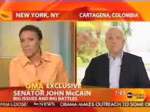 McCain on Colombia and drug trafficking