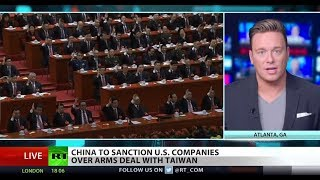 China sanctions US over Taiwan arms deal – Ben Swann